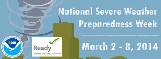 Change your Facebook cover with the National Severe Weather Preparedness Week poster