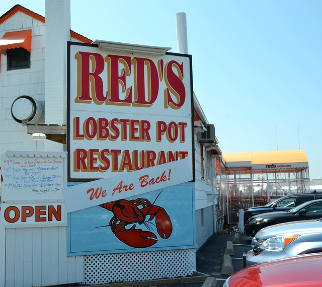 Point Pleasant Beach, N.J., April 24, 2013 -- A seasonal restaurant in Point Pleasant Beach, Red's Lobster Pot, had to delay its' normal opening date by one month due to damage inflicted by Hurricane Sandy in late October of last year.  The family owned business has been serving fresh seafood to locals and visitors for twenty years at their dock-front location.  Photo by Sharon Karr/FEMA