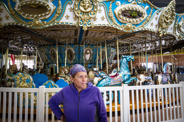 Seaside Heights, N.J., April 16, 2013 -- After 40 years in the arcade business Helen Stewart, Fun Time Pier Arcades operator, never thought that almost half of her business would disappear when it collapsed into the ocean during Hurricane Sandy.Despite the struggle endured after the hurricane, many ocean front businesses hope the community and visitors will support the Shore this summer. Rosanna Arias/FEMA