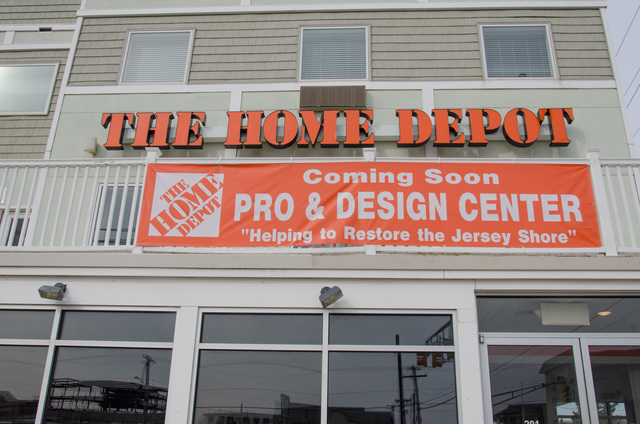 Seaside Heights, N.J., Feb. 26, 2011 --  A new Home Depot satellite Design Center will open in the coming weeks here and will serve the community's rebuilding needs as they recover from Hurricane Sandy. Among the offerings will be same day delivery and DIY workshops. Photo by Liz Roll/FEMA