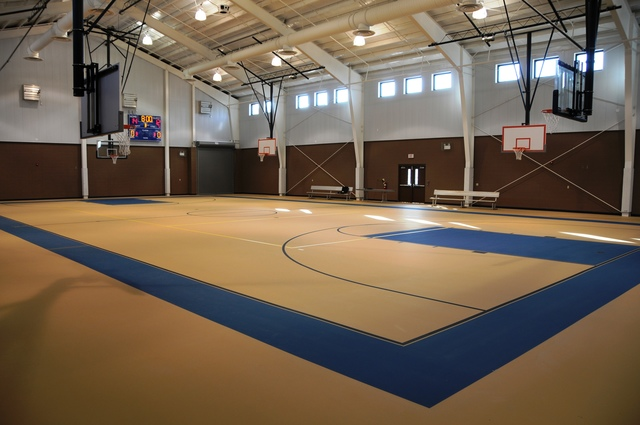 St Bernard Parish, La., Sep. 21, 2008 -- The Federal Emergency Management Agency spent more than $2.8 million to replace Gauthier Gym in St. Bernard Parish. The gym experienced over four feet of flooding and high winds which caused severe damage. Gioan Nguyen/FEMA