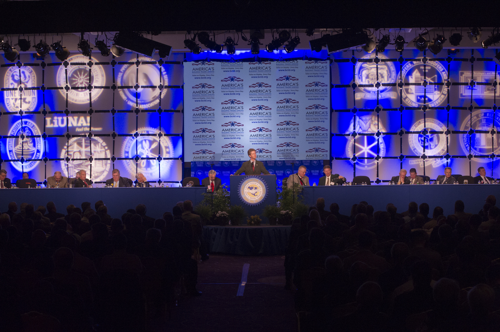 [Activities at the]  American Federation of Labor-Congress of Industrial Organizations (AFL-CIO) Building and Construction Trades Convention, [with address by Secretary Shaun Donovan]