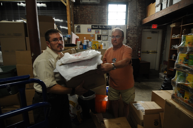 [Activities at the Bread for the City]  Food Bank, Washington, D.C.