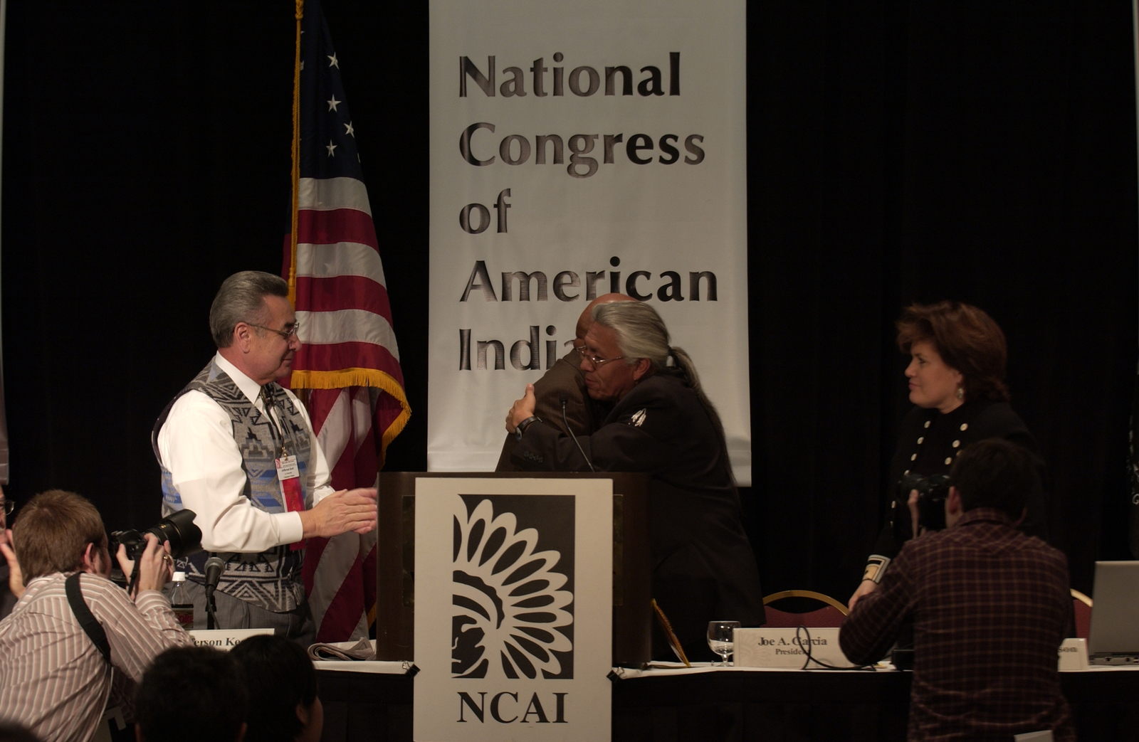 [Activities at the] National Congress of American Indians [conference] in Washington, D.C., including speech by Secretary Alphonso Jackson