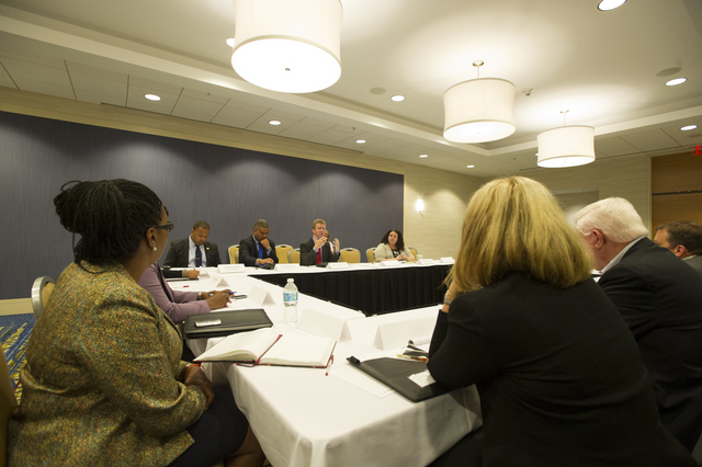 Affordable Care Act (ACA) Roundtable, [Atlanta, Georgia,] with Secretary Shaun Donovan, [HUD Region IV (Southeast) Administrator Ed Jennings, Jr., and Small Business Adminisration Region IV (Southeast) Administrator Cassius Butts among the participants]