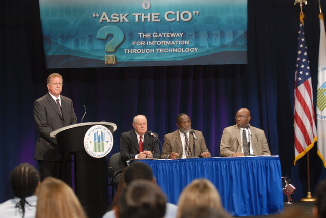 """Ask The CIO forum,  [""""The Gateway for Information Through Technology,""""  led by HUD Chief Information Officer Jerry Williams]"""