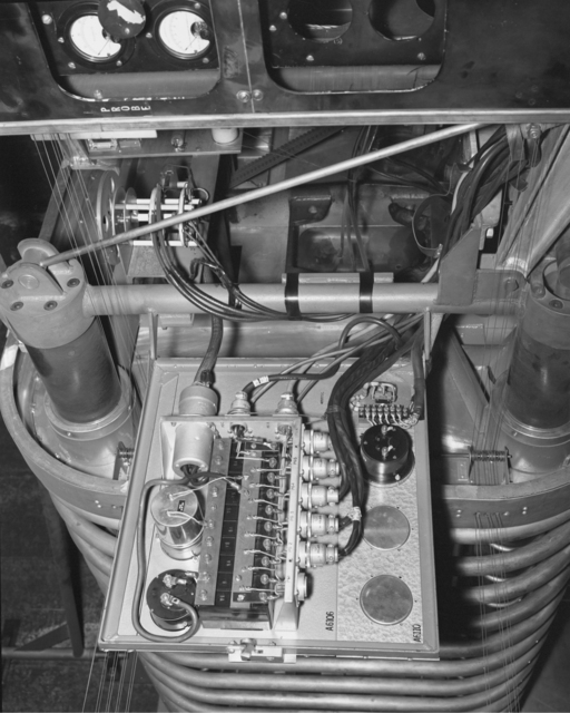 C-W ion source. Photograph taken December 5, 1958. Bevatron-1685