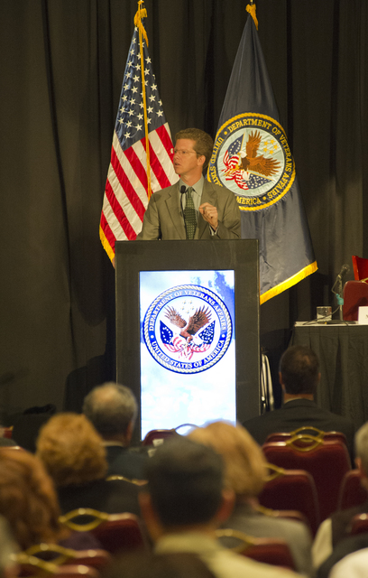 [Department of Veterans Affairs-sponsored] Homeless Veterans National Forum, [with Secretary Shaun Donovan among the participants]