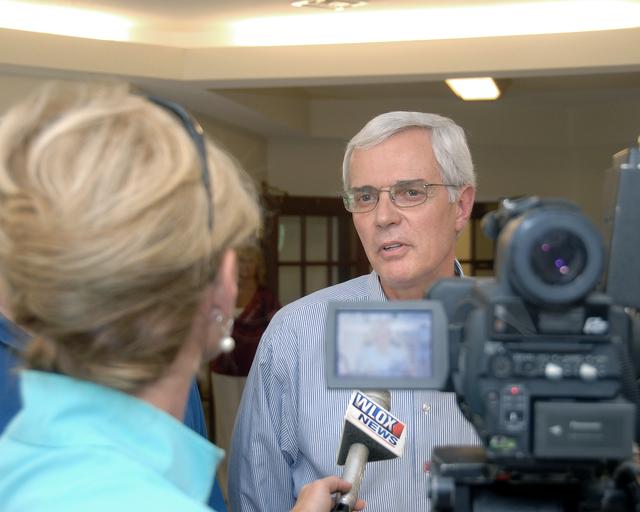 Deputy Secretary Roy Bernardi on tour of Biloxi, Mississippi