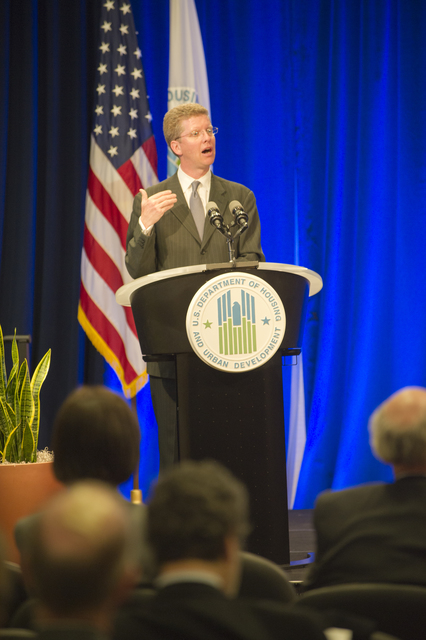 Fiscal Year 2012 budget roll-out [presentation at HUD headquarters, with Secretary Shaun Donovan]