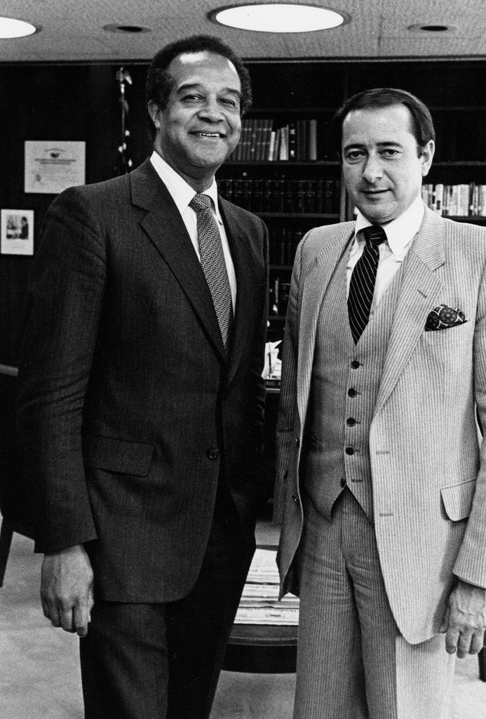 Former Secretary Samuel Pierce: Highlights - Highlight photos from tenure of former Secretary Samuel Pierce