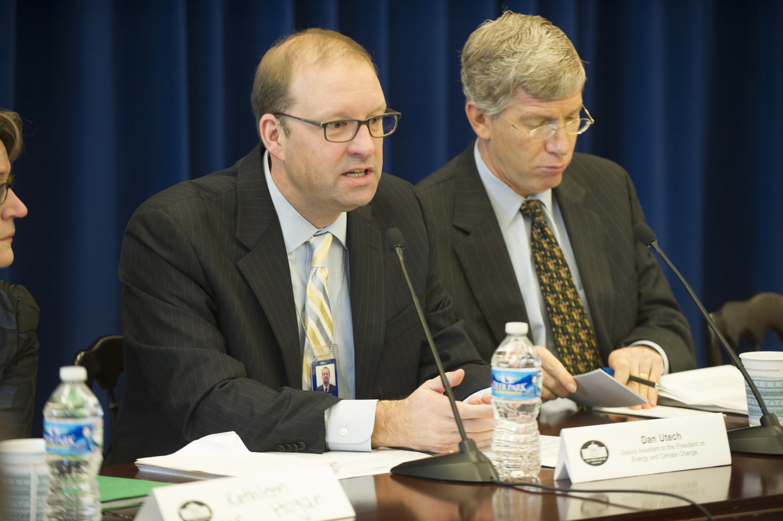 [Gathering of HUD, Department of Energy, White House, and other officials to announce expansion of the President's] Better Buildings Challenge [to cover multifamily housing, as well as the launch of the Better Buildings Accelerators to support state and local government-led efforts to cut energy waste and eliminate market and technical barriers to greater building energy efficiency. HUD Secretary Shaun Donovan joined Energy Deputy Secretary Daniel Poneman, White House Council on Environmental Quality Chair Nancy Sutley, and Special Assistant to the President on Energy and Climate Change, Dan Utech, among other participants.]