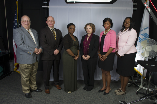 Group [portrait}: Tracey Dunn with Congressional Relations Staff [colleagues, Office of Congressional and Intergovernmental Relations]