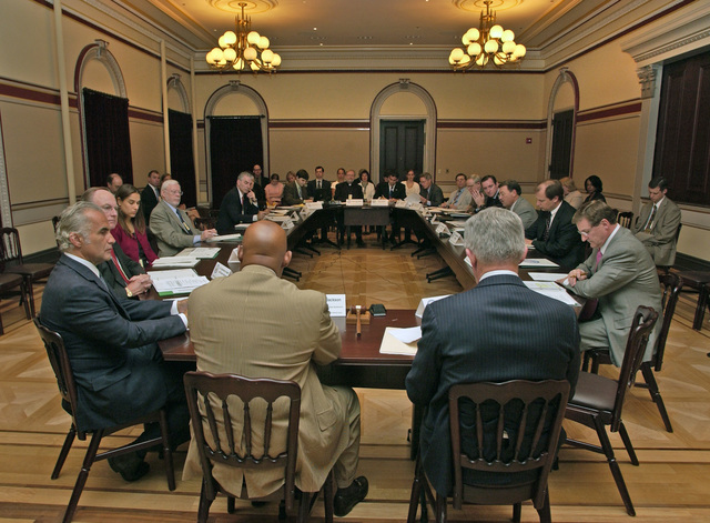 Homeless Council meeting, at the White House, chaired by Secretary Alphonso Jackson