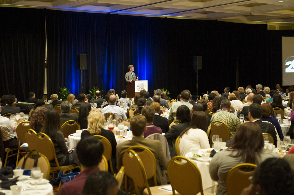 HUD Home Investment Partnerships Program (HOME) [20th Anniversary Conference at the Hyatt Regency, Bethesda, Maryland], with Secretary Shaun Donovan, Assistant Secretary for Community Planning and Development (CPD) Mercedes Marquez, [Deputy Assistant Secretary for CPD Grant Programs Yolanda Chavez, and Acting Director of CPD Office of Affordable Housing Programs Ginny Sardone among the speakers]