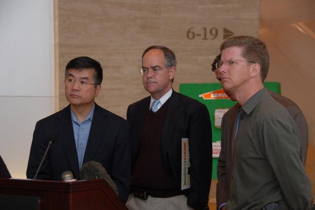 Nashville, Tennessee, [visited by] HUD Secretary Shaun Donovan and Commerce Secretary Gary Locke [in wake of] city's floods