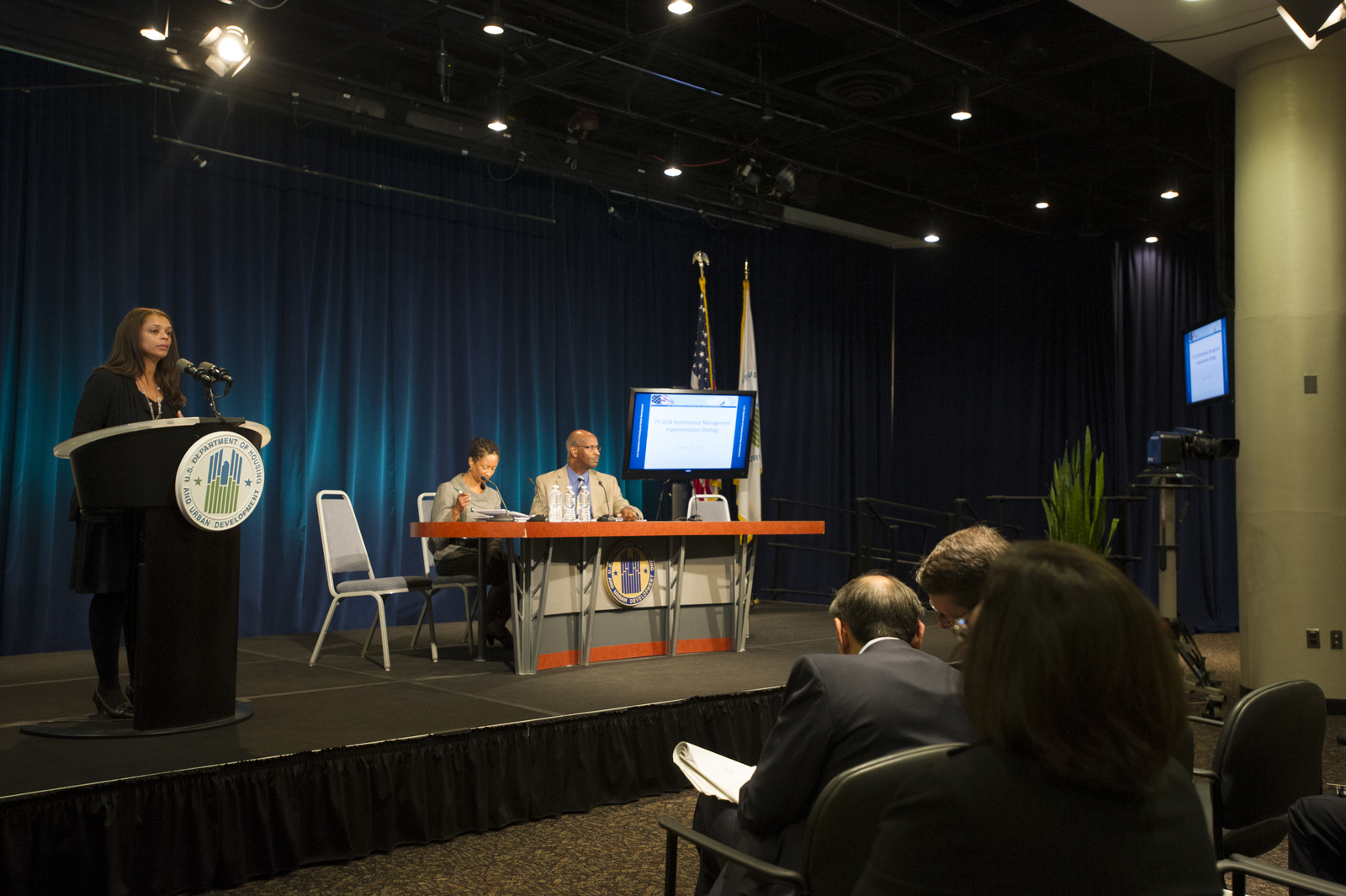 Office of Community Planning and Development (CPD) All Hands Meeting, [with Secretary Shaun Donovan joining Acting Assistant Secretary for CPD, Mark Johnston, CPD General Deputy Secretary Cliff Taffet, and other senior CPD officials among the speakers]