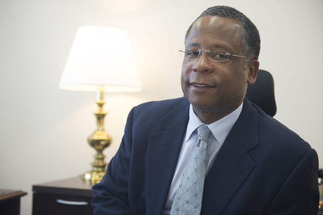 Office shot of Calvin Johnson, Deputy Assistant Secretary, Office of Research, Evaluation, and Monitoring, Office of Policy Development and Research (PDR)