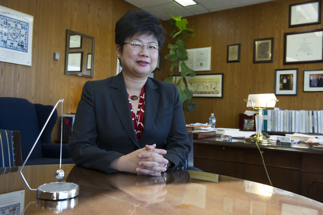 Office shot of Jean Lin Pao, General Deputy Assistant Secretary, Policy Development and Research (PDR)