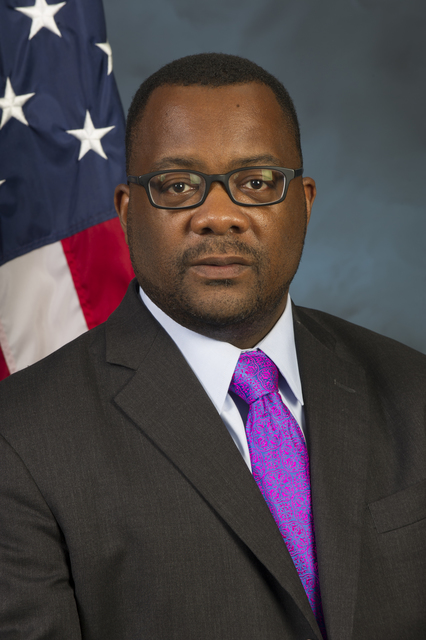 Official portrait of Bryan Greene, General Deputy Assistant Secretary, Office of Fair Housing and Equal Opportunity