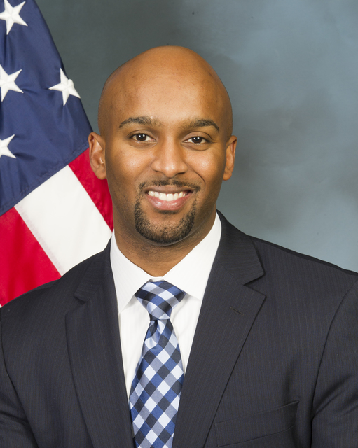 Official portrait of Nate Jenkins, White House Liaison