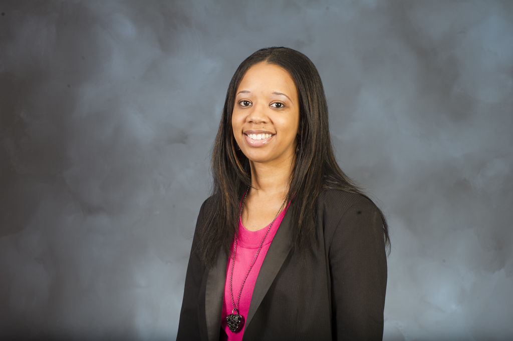 Portrait of Michelle Dockett, Communications and Marketing Division, Office of Business Development, Office of Housing