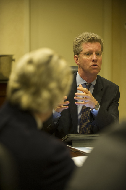 Secretary Shaun Donovan, [aides with delegation from 2013 Winter] Meeting  [of the U.S. Conference of] Mayors, [including Seattle, Washington Mayor Mike McGinn]