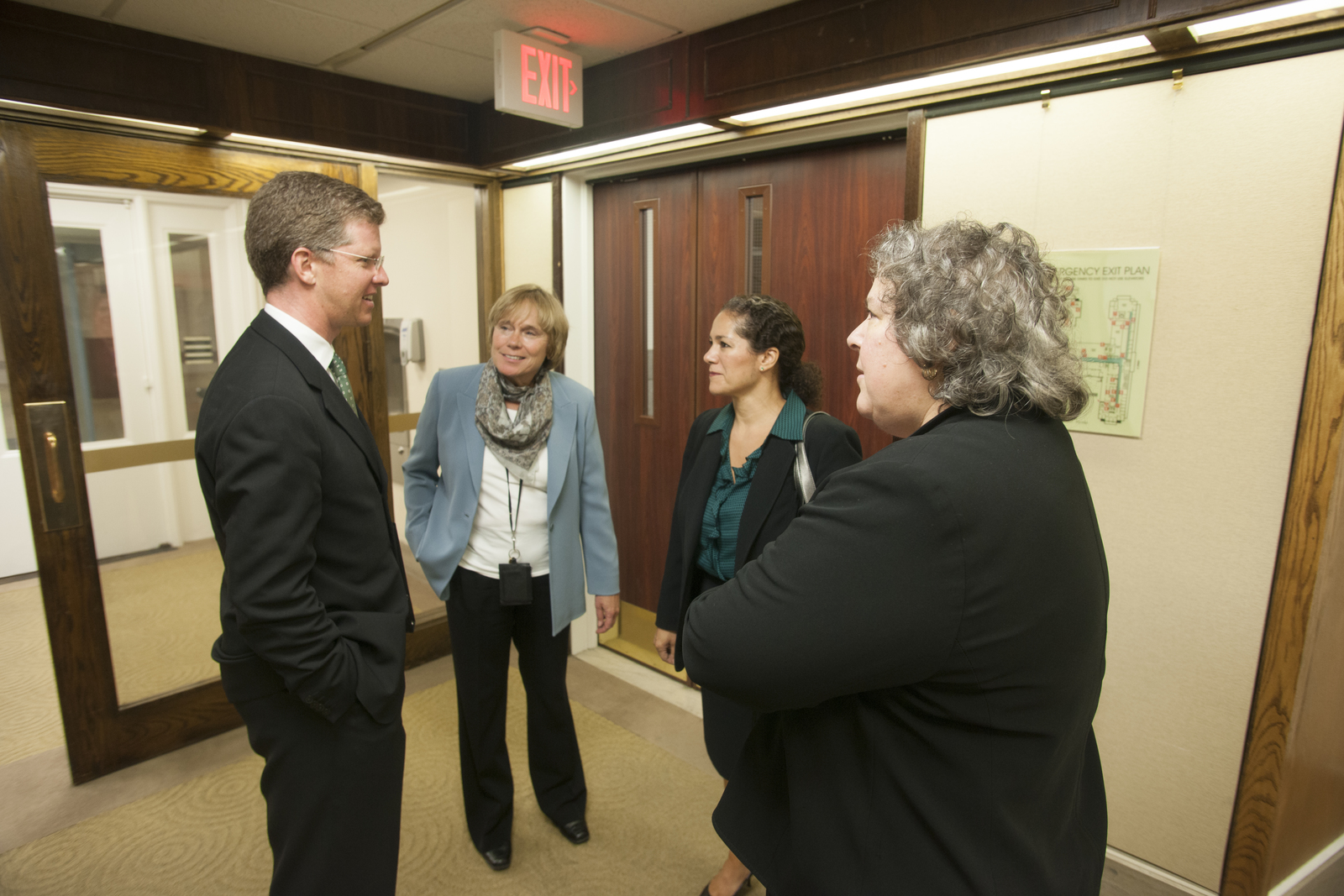 """Secretary Shaun Donovan at Federal Reserve [headquarters, Washington, D.C.,  where he spoke at summit on """"Real Estate Owned (REO) and Vacant Property Strategies for Neighborhood Stabilization""""]"""