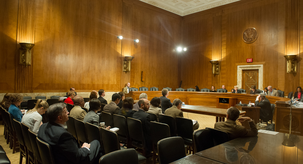 Secretary Shaun Donovan [delivering] testimony on HUD's Fiscal Year 2014 budget request,  [at hearing of the Senate Appropriations Committee's Subcommittee on Transportation, Housing and Urban Development, and Related Agencies, Dirksen Senate Office Building]