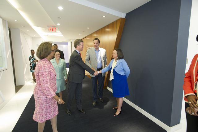 Secretary Shaun Donovan in Atlanta, Georgia [for participation in] Promise Zones Roundtable, hosted by Invest Atlanta, [the city's Economic Development Authority]