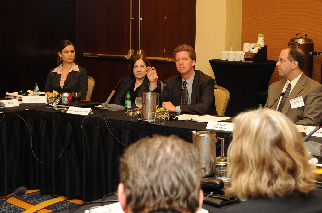 Secretary Shaun Donovan meeting with Office of the General Counsel staff