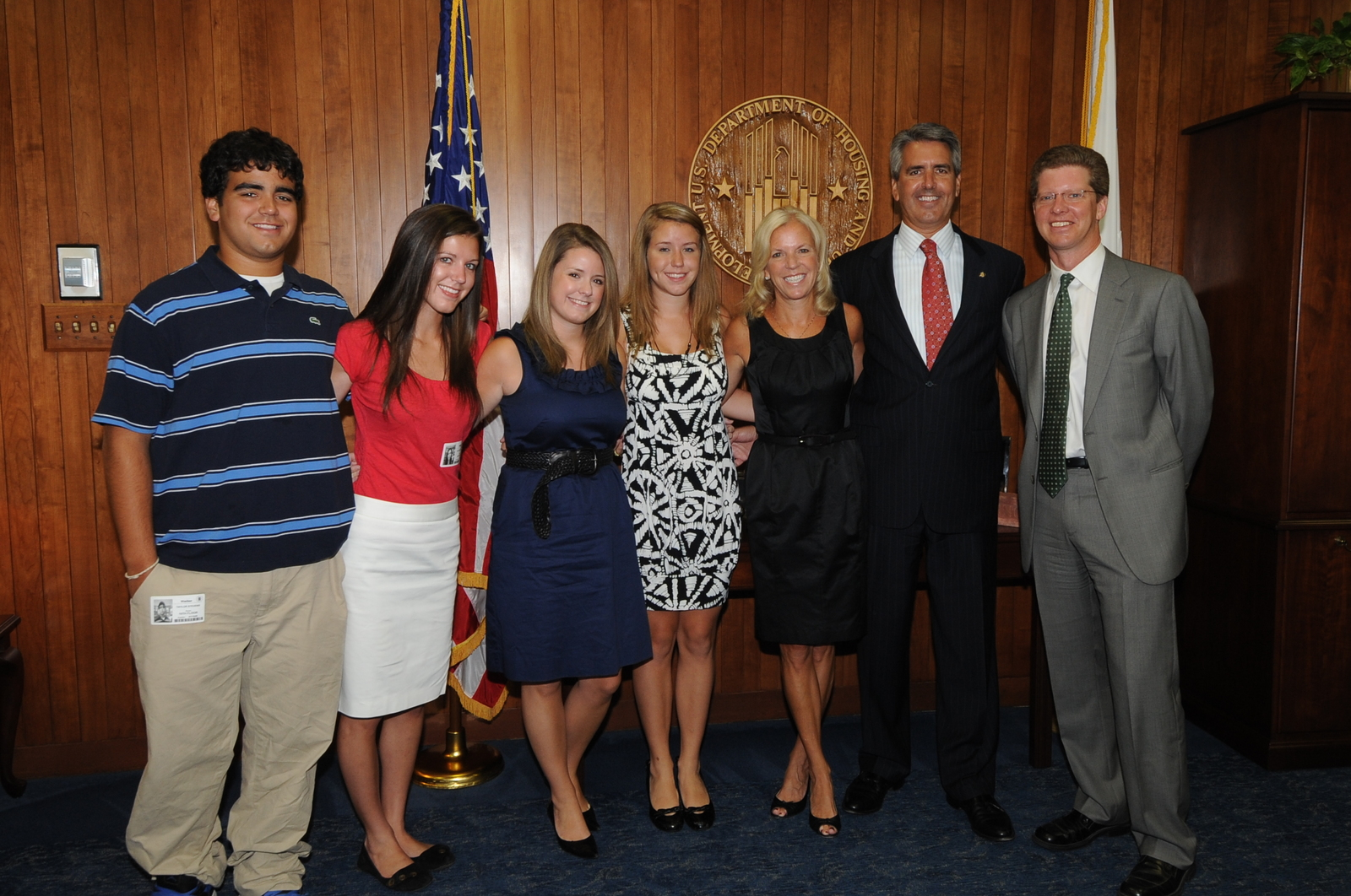 Swearing in ceremony for Federal Housing Administration (FHA) Commissioner David Stevens