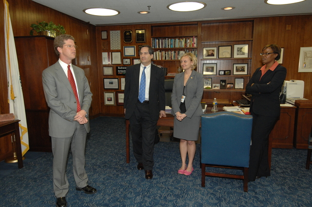 Swearing in event for Assistant Secretaries,  [with Secretary Shaun Donovan presiding]