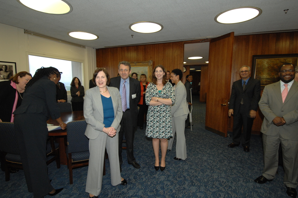 Swearing in event for Assistant Secretaries,  [with Secretary Shaun Donovan presiding]