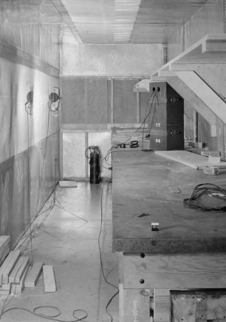 The Bird Cage associated with the Linac. Photograph taken March 21, 1946. LINAC-80