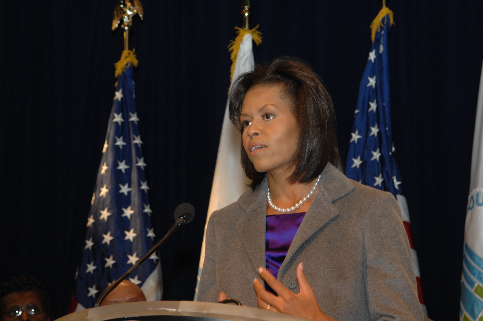 Visit of First Lady Michelle Obama to HUD headquarters