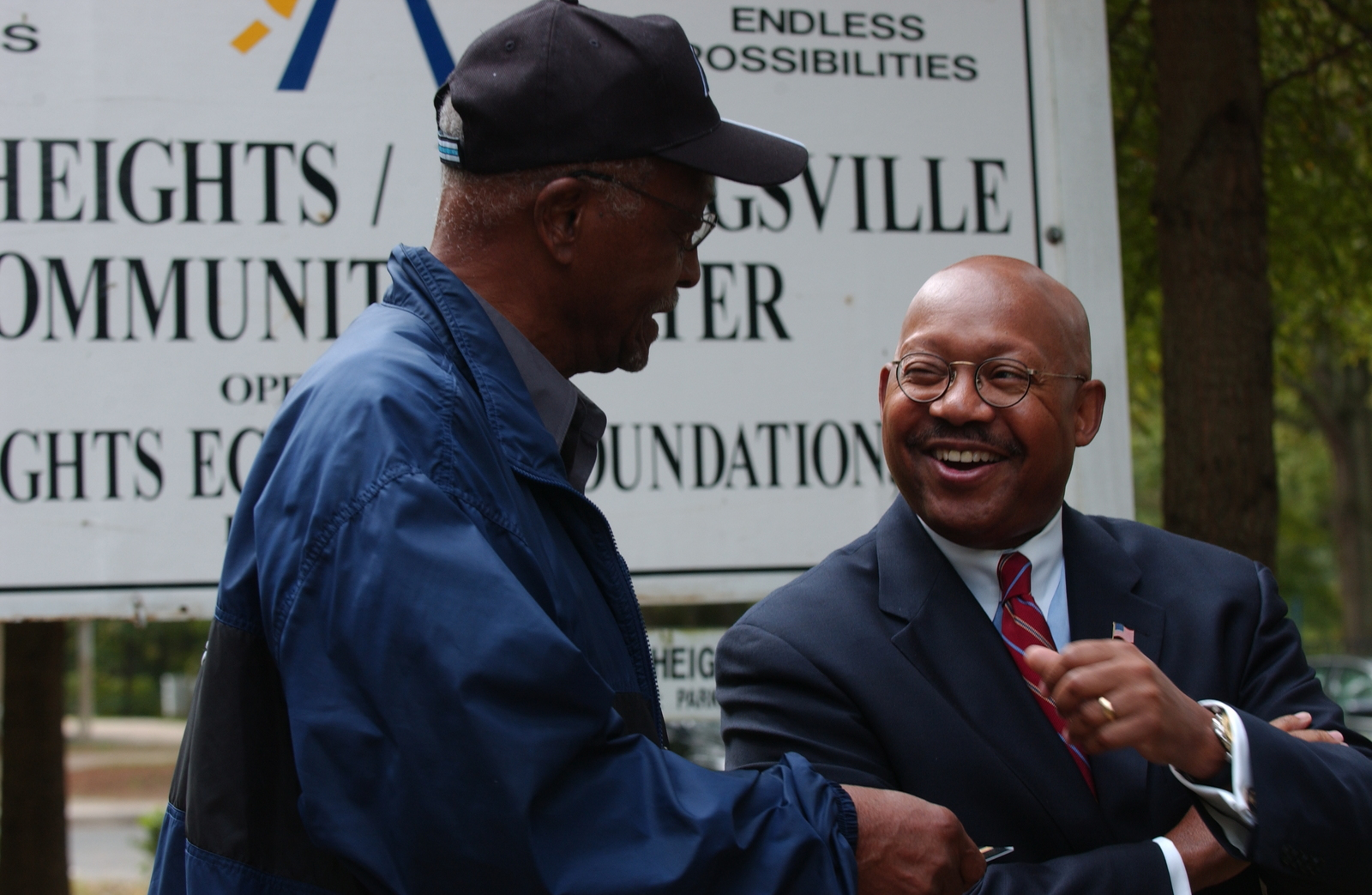 Visit of Secretary Alphonso Jackson to Charlotte, North Carolina,  where he toured the Grier Heights-Billingsville Community with North Carolina Congressman Robin Hayes and Grier Heights Economic Development Foundation Director George Wallace,  among others