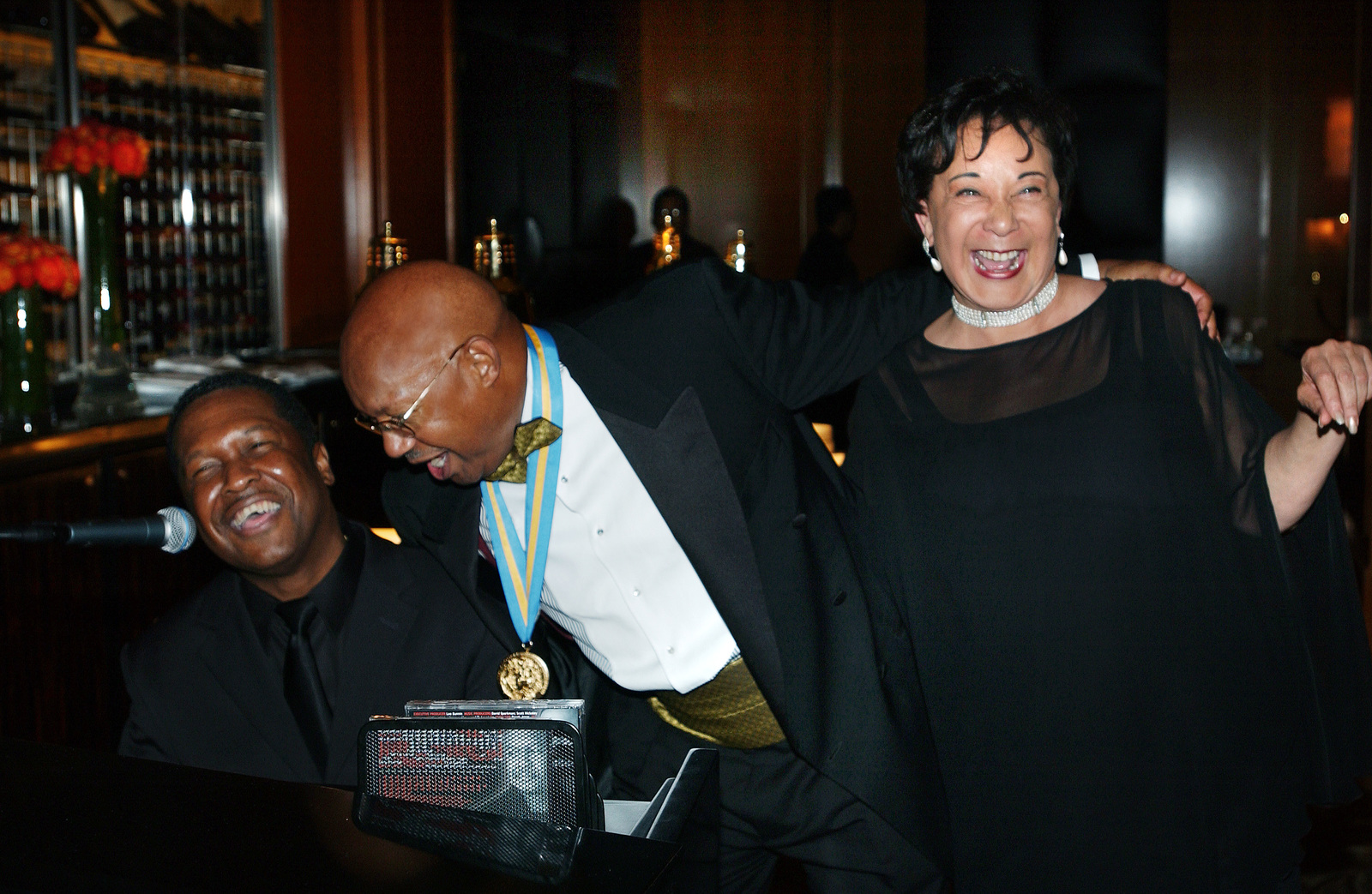 [Highlights from] Academy of Achievement Awards in Los Angeles, California, attended by Secretary Alphonso Jackson