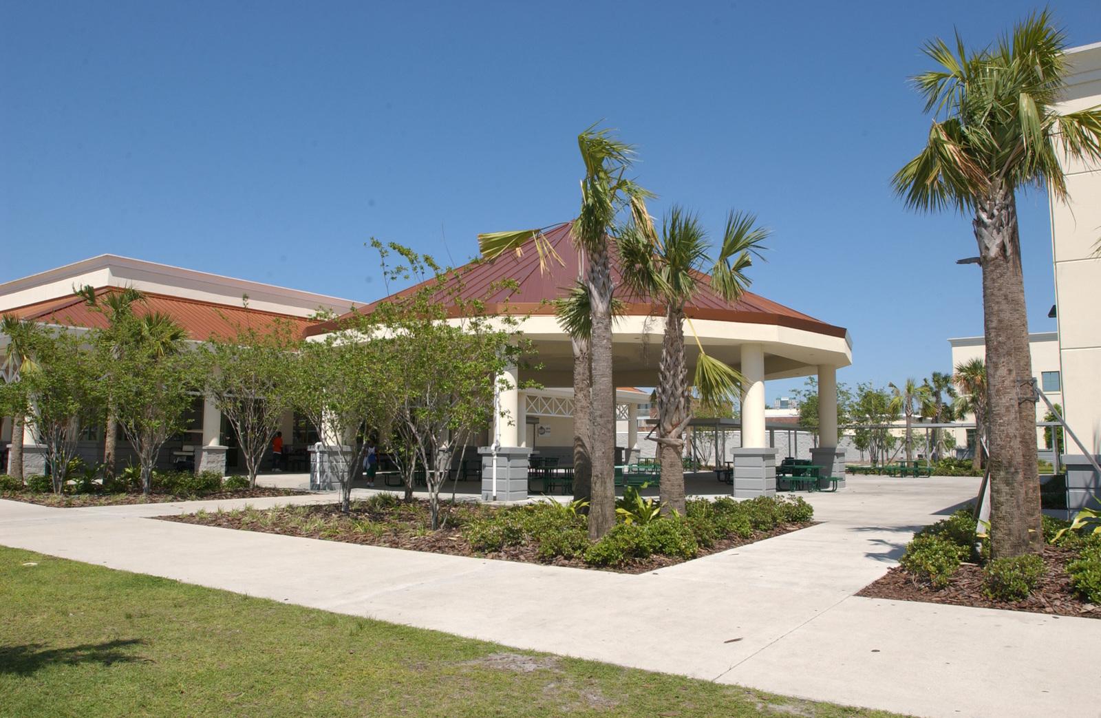 [Highlights from] Orlando, Florida:  [City scenes,] housing construction, new homes, Jones High School
