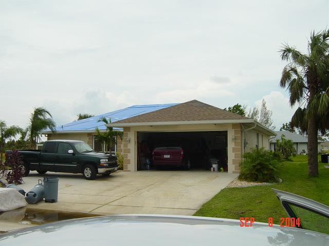 Hurricane Charley [impact], Port Charlotte, Florida