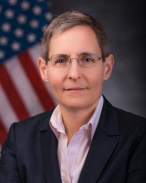 Office of Environmental Information - Portrait of Ann Dunkin [412-APD-1370-AnnDunkin8x10.jpg]