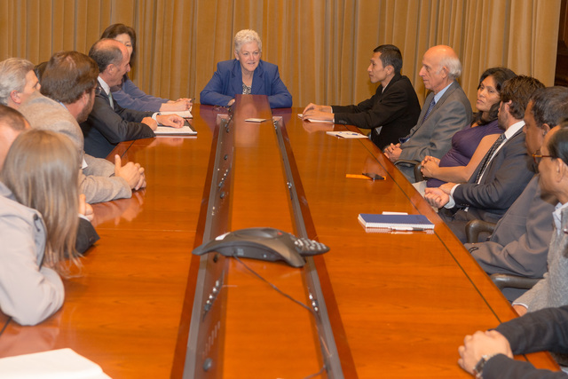 Office of the Administrator - Goldman Environmental Prize Recipients meet with Administrator Gina McCarthy [412-APD-1218-2014-05-01_GoldmanPrize_004.jpg]