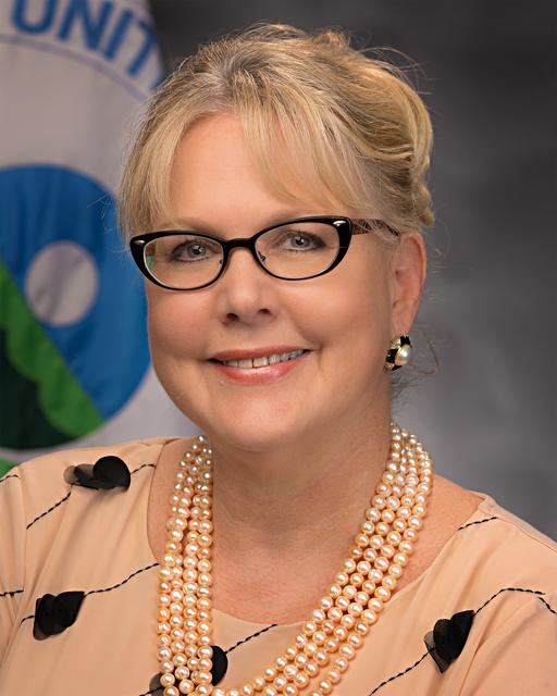 Office of the Administrator - Portrait of Allison Wiedeman [412-APD-1300-AllisonWiedeman8x10.jpg]