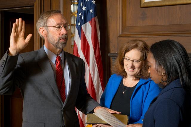 Office of the Deputy Administrator - Stan Meiburg Takes Oath of Office [412-APD-1356-2014-10-05_MeiburgOath_004.jpg]