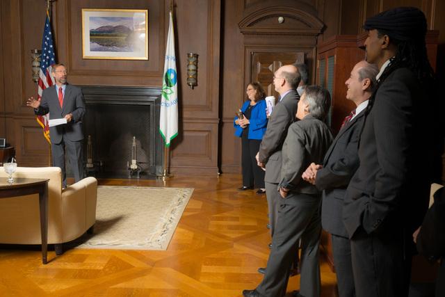 Office of the Deputy Administrator - Stan Meiburg Takes Oath of Office [412-APD-1356-2014-10-05_MeiburgOath_011.jpg]