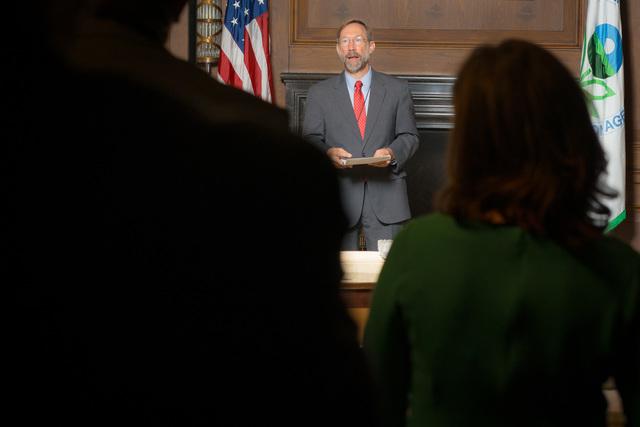 Office of the Deputy Administrator - Stan Meiburg Takes Oath of Office [412-APD-1356-2014-10-05_MeiburgOath_010.jpg]