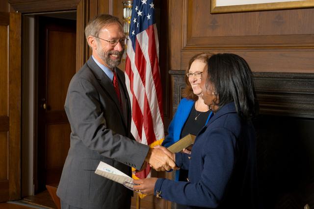 Office of the Deputy Administrator - Stan Meiburg Takes Oath of Office [412-APD-1356-2014-10-05_MeiburgOath_005.jpg]