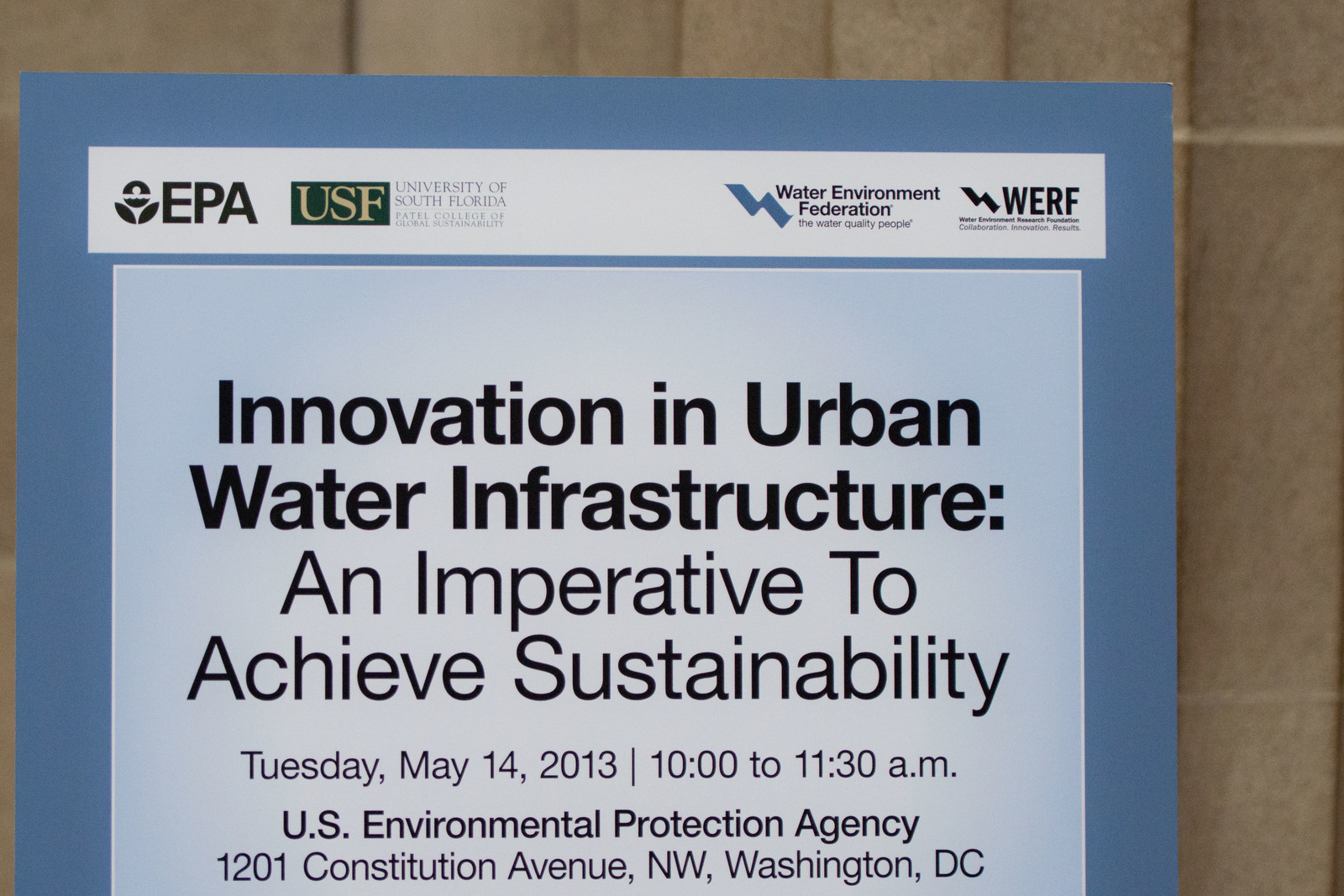 Office of Water - Innovation in Urban Water Infrastructure [412-APD-1414-2013-05-14_WaterImperative_001.jpg]