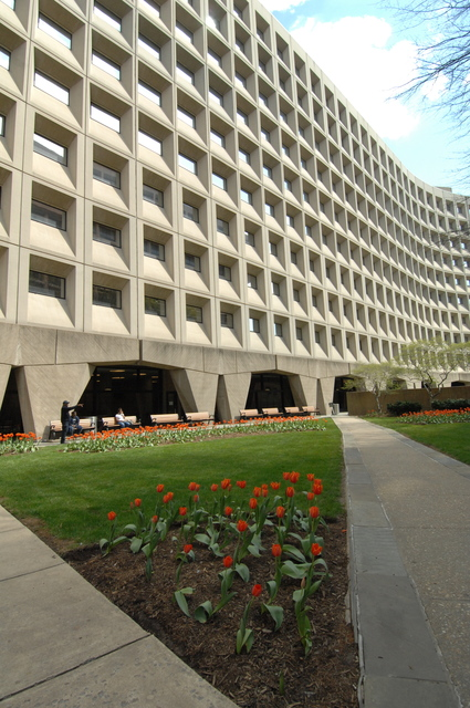 [Select views:]  Exterior,  HUD headquarters--Robert C. Weaver Federal Building, Washington, D.C.