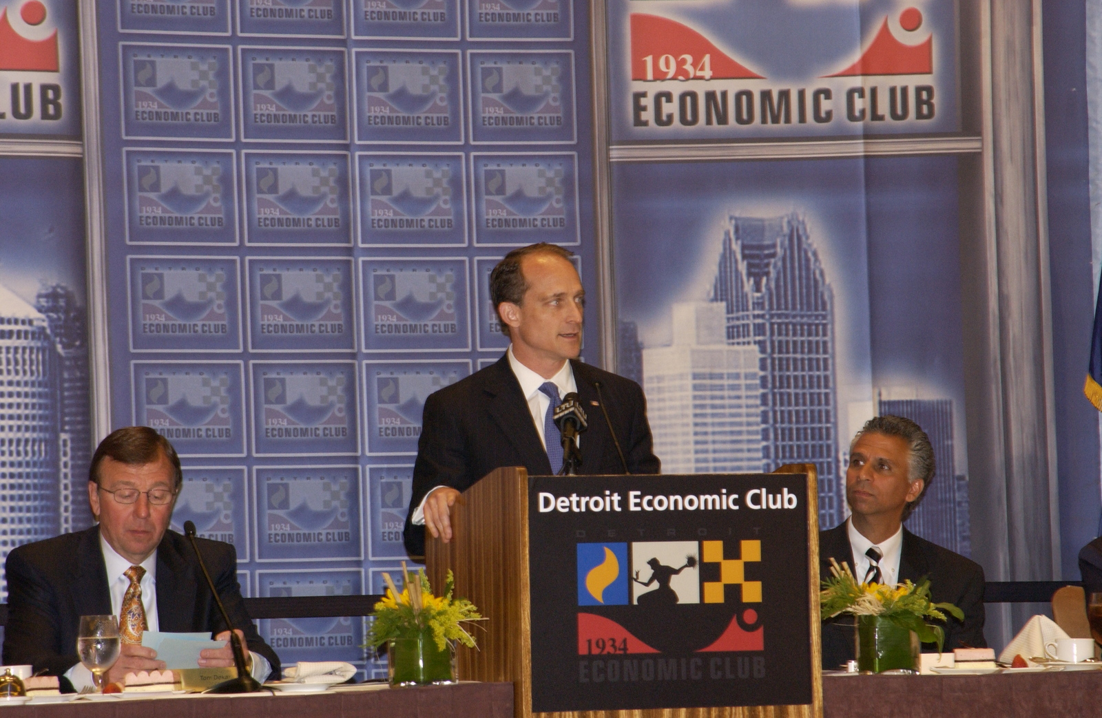Visit of Secretary Steve Preston to Detroit,  Michigan for meetings with civic leaders,  speech at the Detroit Economic Club